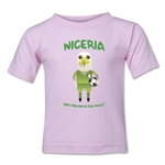 Nigeria 2014 FIFA World Cup Brazil(TM) Toddler Mascot T-Shirt (Pink)