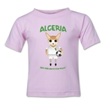 Algeria 2014 FIFA World Cup Brazil(TM) Toddler Mascot T-Shirt (Pink)