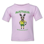 Australia 2014 FIFA World Cup Brazil(TM) Toddler Mascot T-Shirt (Pink)
