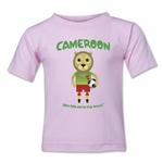 Cameroon 2014 FIFA World Cup Brazil(TM) Toddler Mascot T-Shirt (Pink)