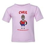 Chile 2014 FIFA World Cup Brazil(TM) Toddler Mascot T-Shirt (Pink)
