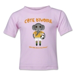 Cote d'Ivoire 2014 FIFA World Cup Brazil(TM) Toddler Mascot T-Shirt (Pink)