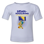Bosnia-Herzegovina 2014 FIFA World Cup Brazil(TM) Toddler Mascot Flag T-Shirt (White)