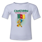 Cameroon 2014 FIFA World Cup Brazil(TM) Toddler Mascot Flag T-Shirt (White)