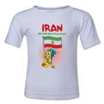 Iran 2014 FIFA World Cup Brazil(TM) Toddler Mascot Flag T-Shirt (White)