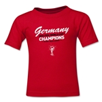 Germany 2014 FIFA World Cup Brazil(TM) Toddler Champions T-Shirt (Red)