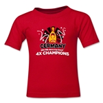 Germany 2014 FIFA World Cup Brazil(TM) Toddler Champions Official Look Trophy T-Shirt (Black)