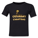 Germany 2014 FIFA World Cup Brazil(TM) Toddler Champions Trophy T-Shirt (Black)