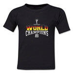 Germany 2014 FIFA World Cup Brazil(TM) Toddler World Champions T-Shirt (Black)