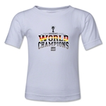 Germany 2014 FIFA World Cup Brazil(TM) Toddler World Champions T-Shirt (White)