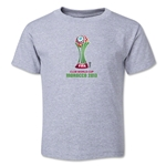FIFA Club World Cup Morocco 2013 Toddler Official Emblem T-Shirt (Grey)