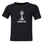 FIFA Club World Cup Morocco 2013 Toddler Official Emblem T-Shirt (Black)