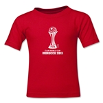 FIFA Club World Cup Morocco 2013 Toddler Official Emblem T-Shirt (Red)