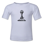 FIFA Club World Cup Morocco 2013 Toddler Official Emblem T-Shirt (White)