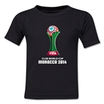 FIFA Club World Cup Morocco 2014 Toddler Core T-Shirt (Black)