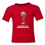 FIFA Club World Cup Morocco 2014 Toddler Core T-Shirt (Red)