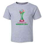 FIFA Club World Cup Morocco 2014 Toddler Core T-Shirt (Grey)