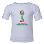 FIFA Club World Cup Morocco 2014 Toddler Core T-Shirt (White)