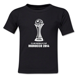 FIFA Club World Cup Morocco 2014 Toddler Core 3 T-Shirt (Black)