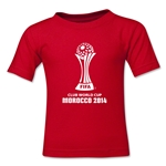 FIFA Club World Cup Morocco 2014 Toddler Core 3 T-Shirt (Red)