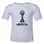 FIFA Club World Cup Morocco 2014 Toddler Core 3 T-Shirt (White)