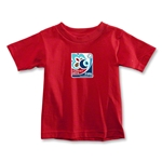 FIFA U-20 World Cup Turkey 2013 Toddler Emblem T-Shirt (Red)
