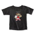 FIFA U-20 World Cup Turkey 2013 Toddler Mascot T-Shirt (Black)