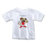 FIFA U-20 World Cup Turkey 2013 Toddler Mascot T-Shirt (White)