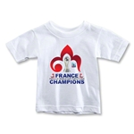France FIFA U-20 World Cup 2013 Winners Toddler T-Shirt (White)
