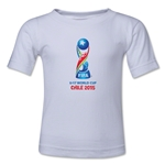 FIFA U-17 World Cup Chile 2015 Core Toddler T-Shirt (White)