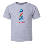 FIFA U-17 World Cup Chile 2015 Core Toddler T-Shirt (Grey)