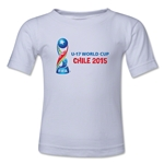 FIFA U-17 World Cup Chile 2015 Landscape Toddler T-Shirt (White)