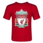 Liverpool Crest Toddler T-Shirt (Red)