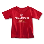 Manchester United 2013 Champions Toddler T-Shirt (Red)