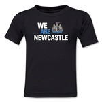 Newcastle United We Are Newcastle Toddler T-Shirt (Black)