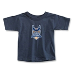 Carolina Railhawks Todder T-Shirt (Navy)