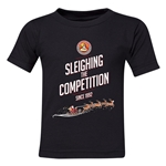 FC Santa Claus Sleighing the Competition Toddler T-Shirt (Black)