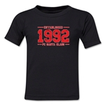 FC Santa Claus Established 1992 Toddler T-Shirt (Black)