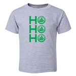 FC Santa Claus Ho, Ho, Ho Toddler T-Shirt (Grey)