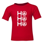 FC Santa Claus Ho, Ho, Ho Toddler T-Shirt (Red)
