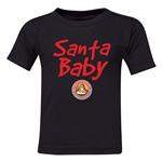 FC Santa Claus Santa Baby Toddler T-Shirt (Black)