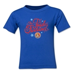FC Santa Claus Pride of Finland Toddler T-Shirt (Royal)