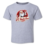 FC Santa Claus Animated Santa Toddler T-Shirt (Grey)
