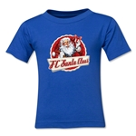 FC Santa Claus Animated Santa Toddler T-Shirt (Royal)