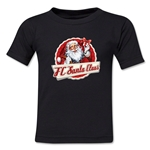 FC Santa Claus Animated Santa Toddler T-Shirt (Black)