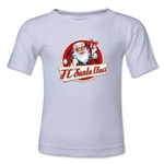 FC Santa Claus Animated Santa Toddler T-Shirt (White)
