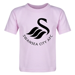 Swansea City Core Logo Toddler T-Shirt (Pink)