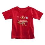 UEFA Champions League Winners Toddler T-Shirt (Red)