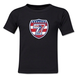 USA Sevens Rugby Toddler T-Shirt (Black)