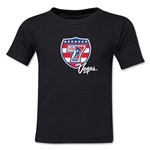 USA Sevens Vegas Rugby Toddler T-Shirt (Black)
